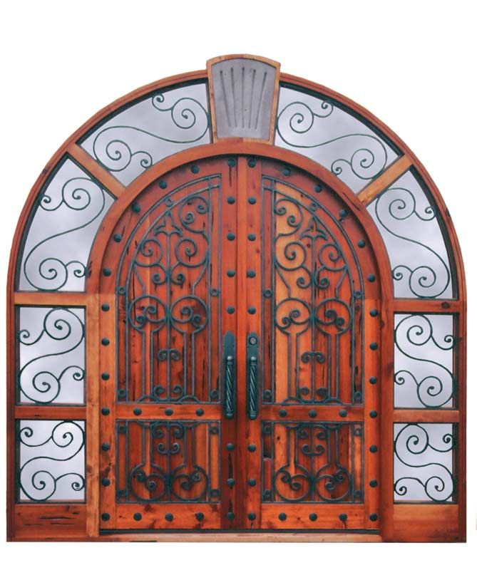 Grand Entrance \ Broughton Castle Century\  Doors designed by H. Nick and Scottsdale Art Factory  sc 1 st  Pinterest & Google Image Result for http://www.artfactory.com/images/scroll-door ...
