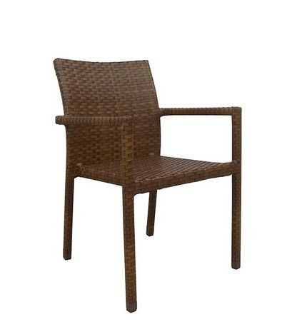 Panama Jack St Barths Stackable Arm Chair