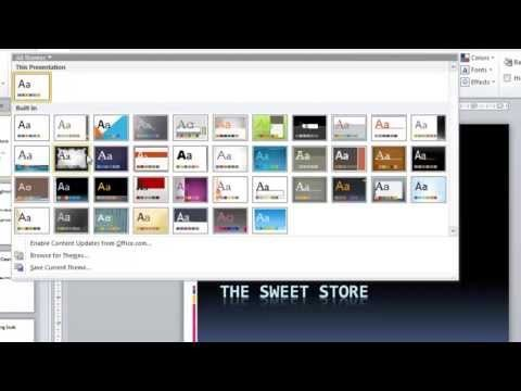 Powerpoint 2010 Tutorial For Beginners 1 Overview Microsoft