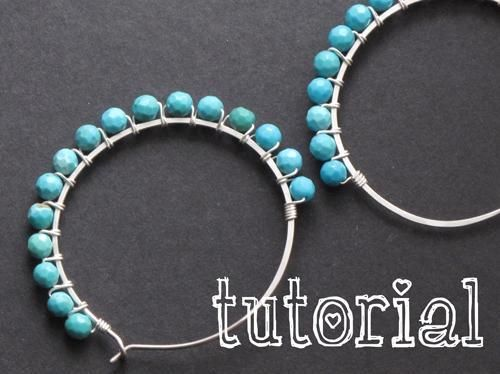Wire Wred Hoop Earring Tutorial Pattern On Craftsy I Have Done Something