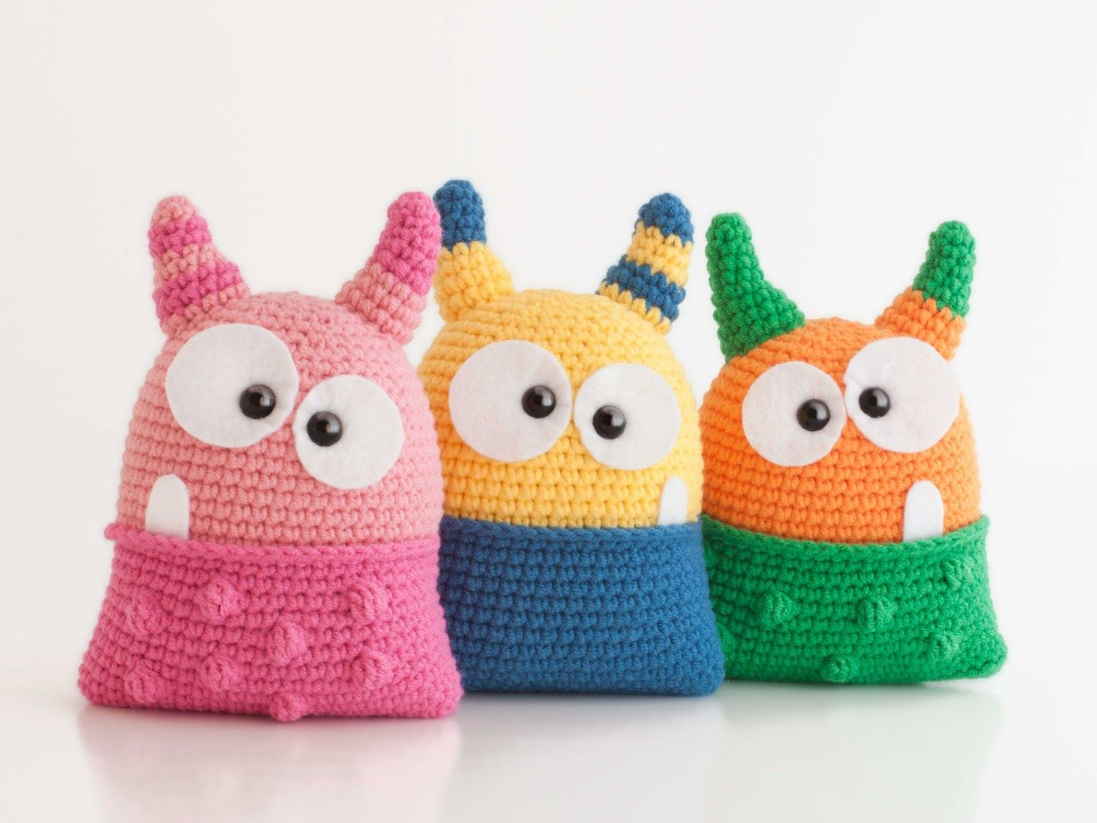 Free Crochet monster Patterns,Free Crochet Huggy Monsters-I have ... | 1200x1600
