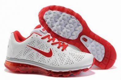 Nike Air Max 2011 ( perforación ) rojo / blanco http://www.esnikerun.com/