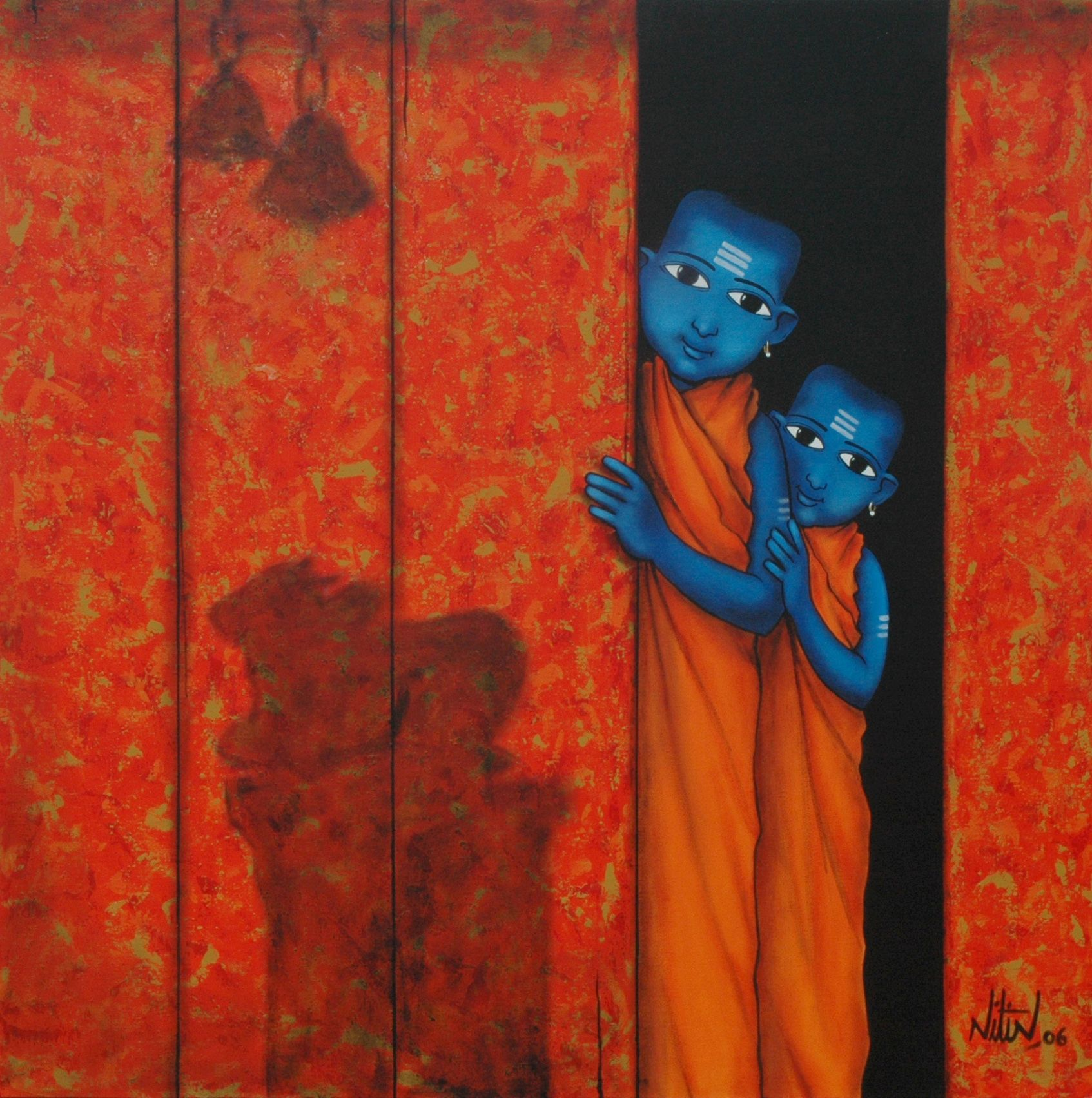 PREVIOUS WORK Nitin Ghangrekar in 2020 Indian art