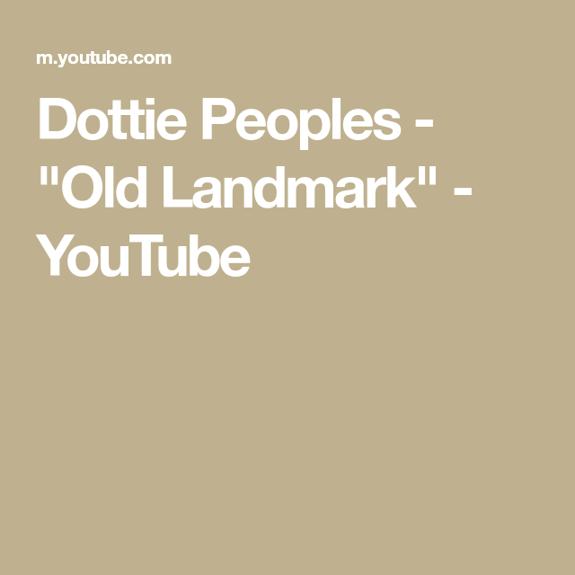 Dottie Peoples -