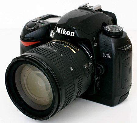Nikon D70s With 18 70mm Lens Clickbd Nikon D70s Camera Nikon Nikon Dslr
