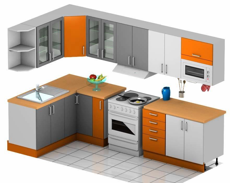 Resultado de imagen para partes de un mobiliario de cocina for Programa de diseno de cocinas integrales