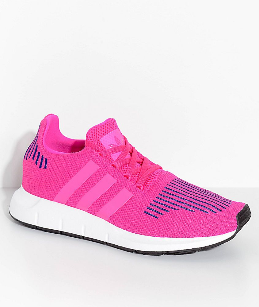 a3534948b Adidas Originals Swift Run J Youth Trainers Pink Youth 6 or Women s 7.5 NIB   adidas  Athletic