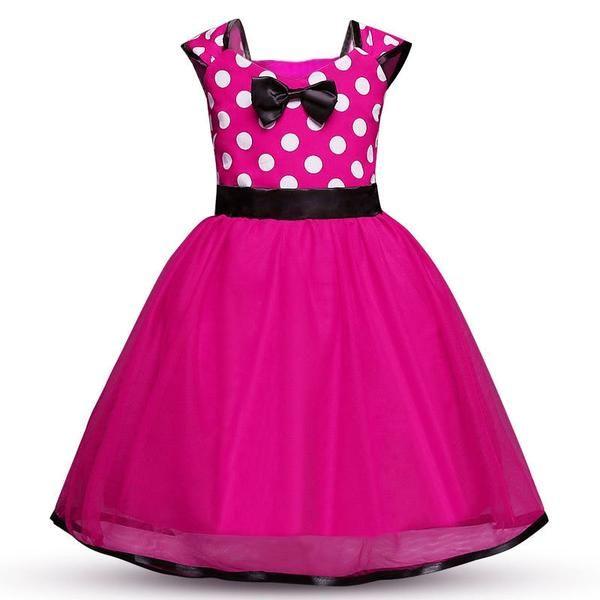 Photo of 2018 vendita calda Miraculous Ladybug Girls Dress Summer Brand Girls Clothes Lace Dot Design Baby Girls Abiti Lady bug Abito da festa