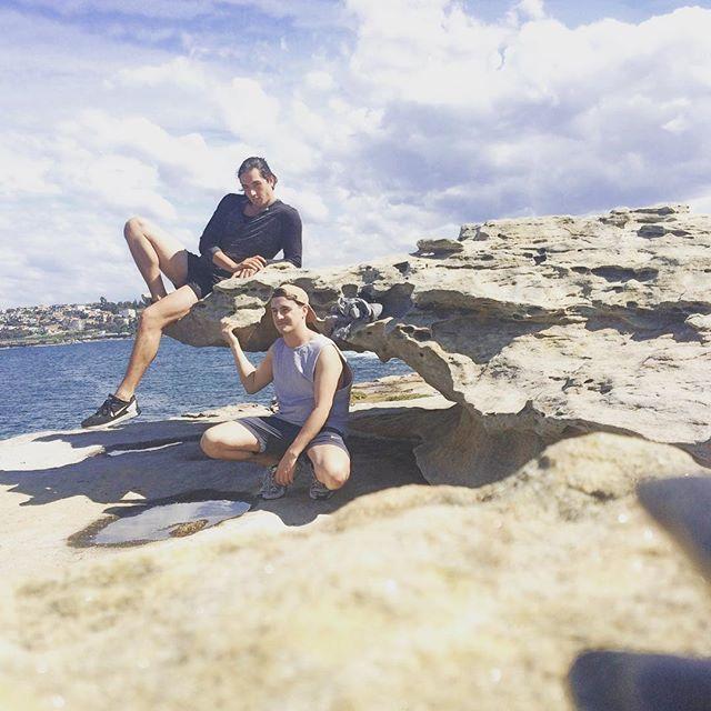 High by the beach (not really)  #bonditobronte #bondi #Monday #chills #sydney by aaronmw88 http://ift.tt/1KBxVYg