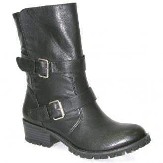 Madeline Girl Darling in Black - Take off on a daring adventure in these forever chic motorcycle boots; featuring animal friendly faux leather, bold buckles, and a rugged rubber sole. Retail Price: $69.00    Contact your Nchantment Shoes and Accessories Image Consultant Today! http://nchantment.com/    http://nchantment.com/content/madeline-girl-darling-black