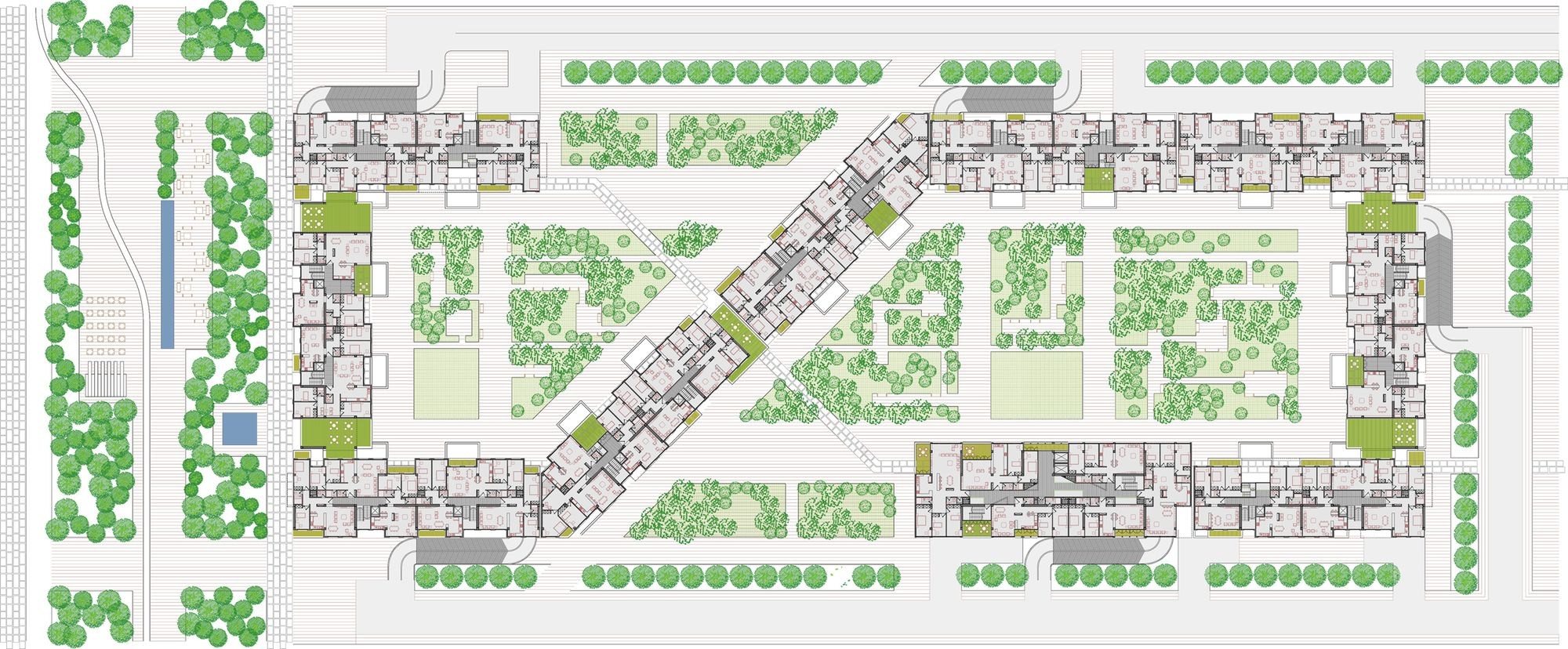 Mehrshahr Residential Complex Proposal Contemporarchitecturban Designers Group Residential Complex Residential Design Urban Planning
