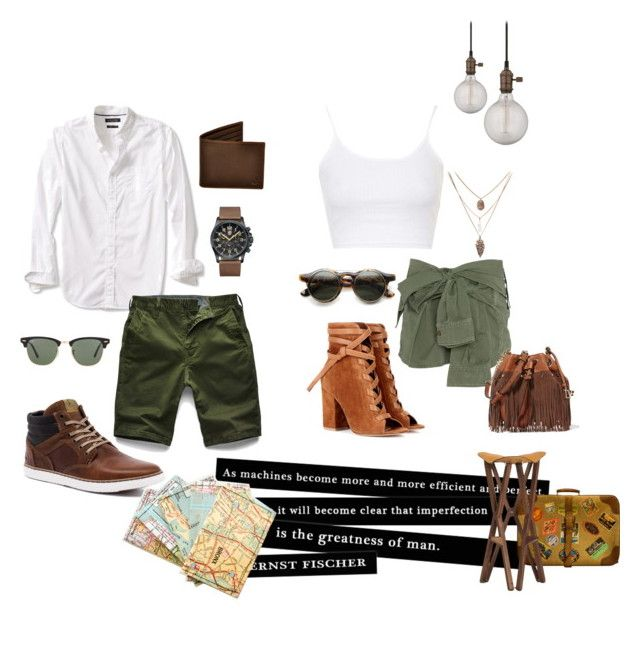 """Untitled #67"" by hessa-46 ❤ liked on Polyvore featuring Topshop, Faith Connexion, Gianvito Rossi, Banana Republic, G-Star Raw, Luminox, Ray-Ban and Diane Von Furstenberg"