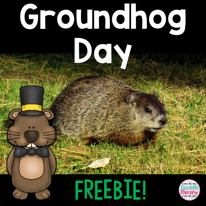 FREE for Groundhog's Day!  Fun activities for kindergarten, first, second grade