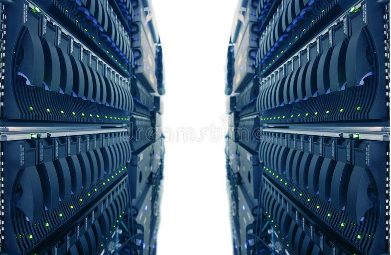 Internet Data Center Computer Racks In Internet Data Center Affiliate Data Internet Center Racks Computer Data Center Computer Rack Stock Images