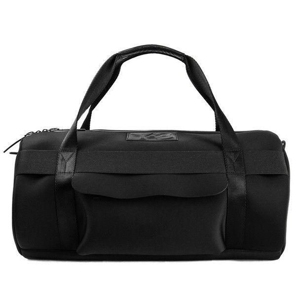 21de2e492a2 Round Black Neoprene Duffle Bag by Y-3   Fashion   Luxury Bags for ...