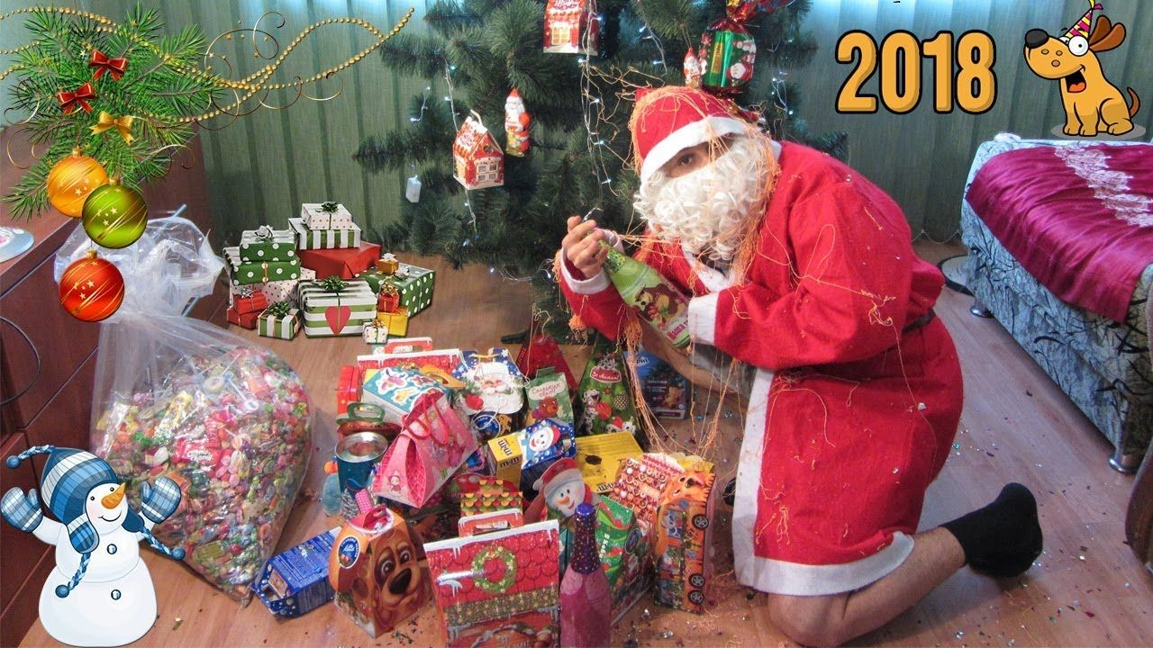 I Got New A Lot Of Christmas Candy And Sweets Box! I Eat Chocolate ...