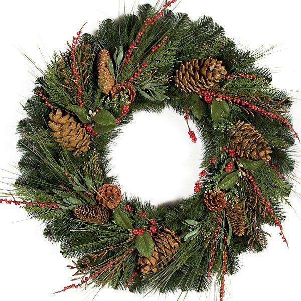 30 Inch Austrian Pine Wreath Pvc Christmas Tree Pinterest