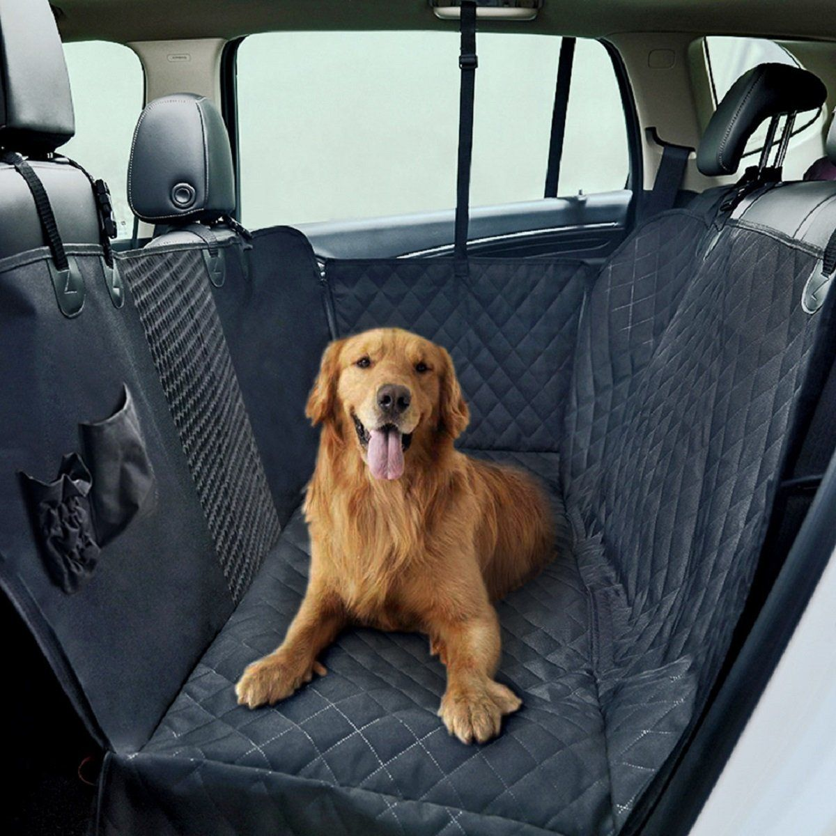 SUV Waterproof Dog Hammock Trucks Best Dog Seat Cover for Backseat of Cars