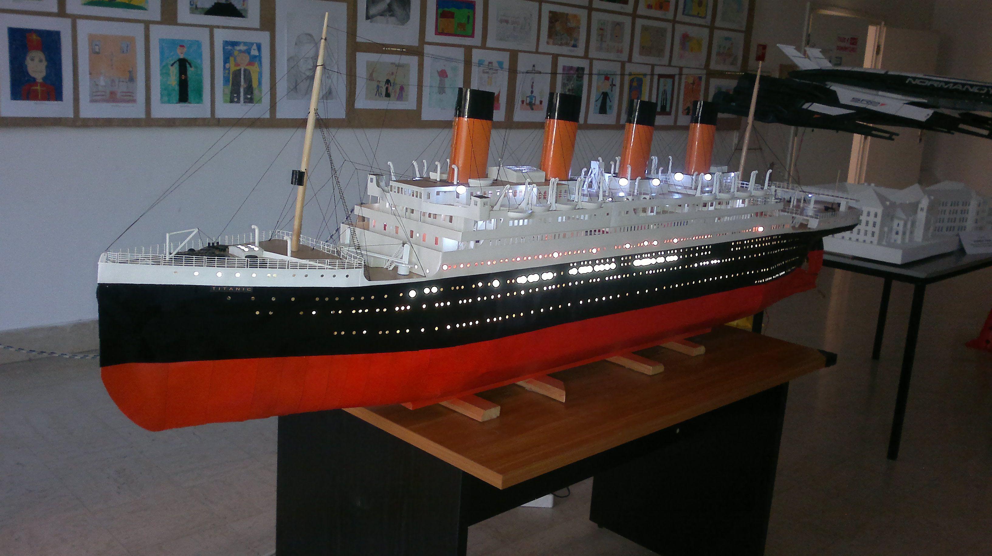 Titanic Model 1 100 Scale 2008 2012 Titanic Model
