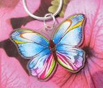 I had no idea shrinky dinks could be so pretty! Love the bright jewel tones here.