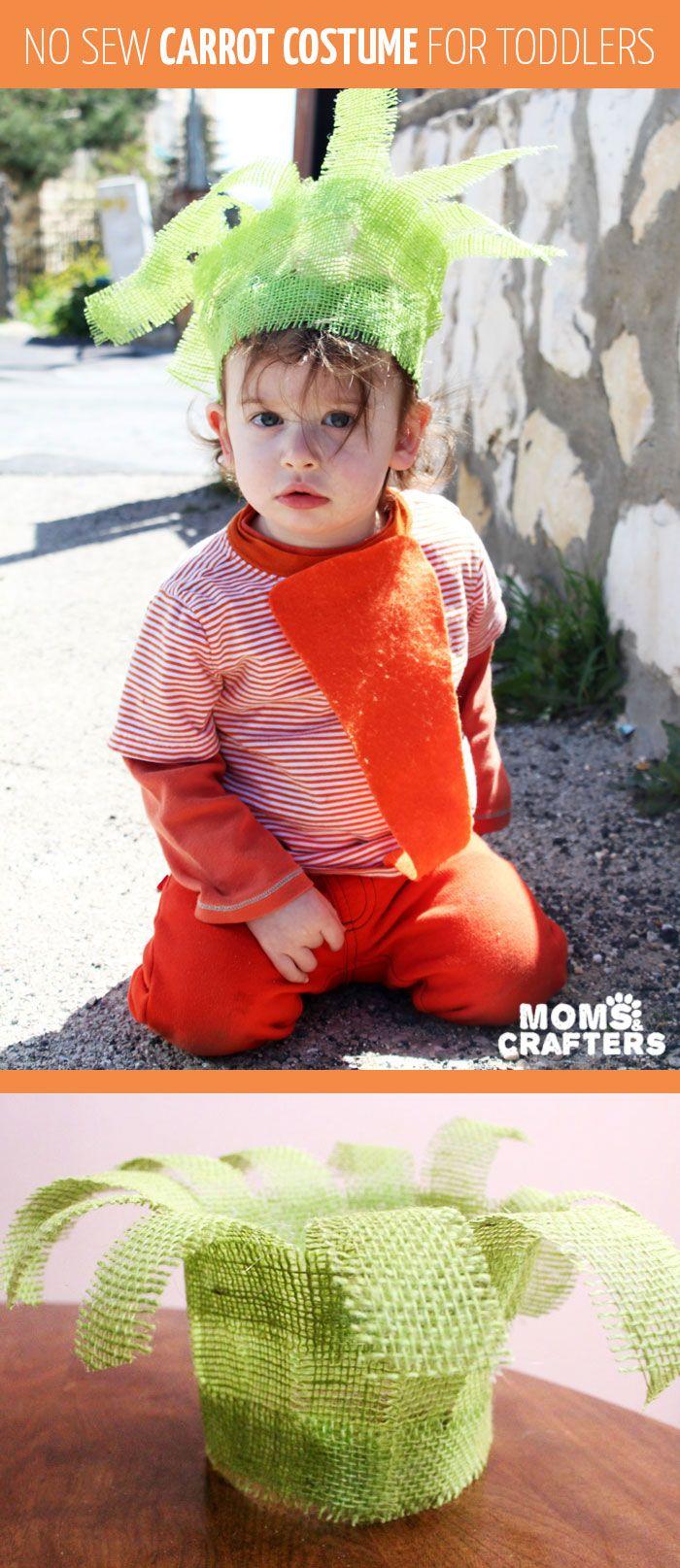 Make an adorable unisex no-sew carrot costume | DIY ideas ...