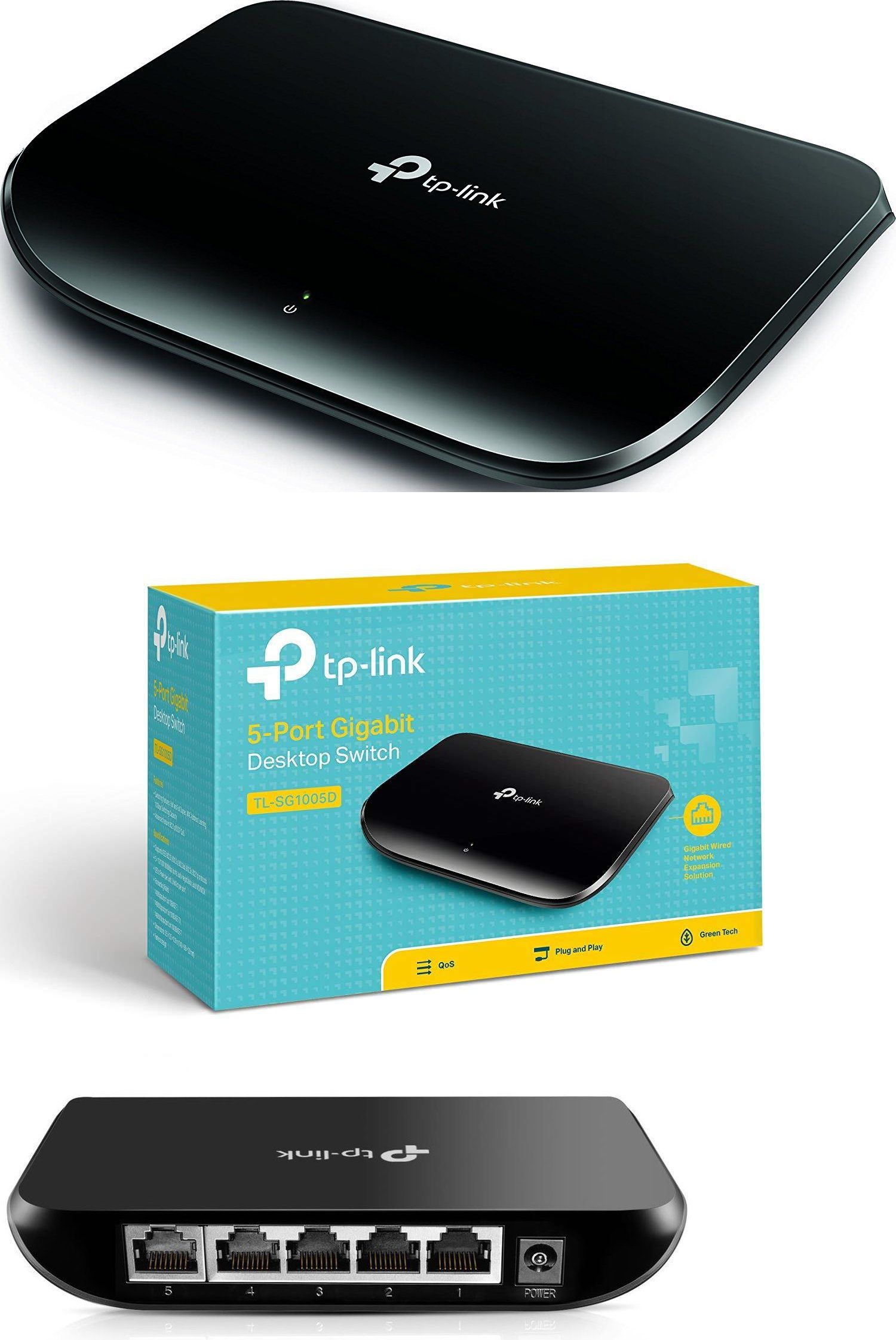 TP-Link TL-SG1005D 5-Port Unmanaged Gigabit Desktop Switch