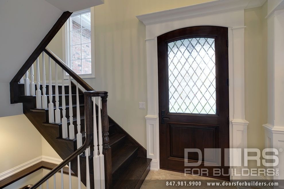 Bon Solid Wood Front Entry Doors In Stock.