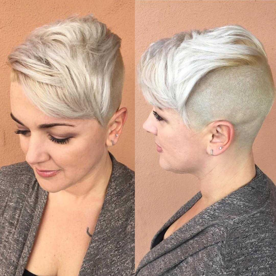 60 Short Hairstyles For Round Faces 2018,2019