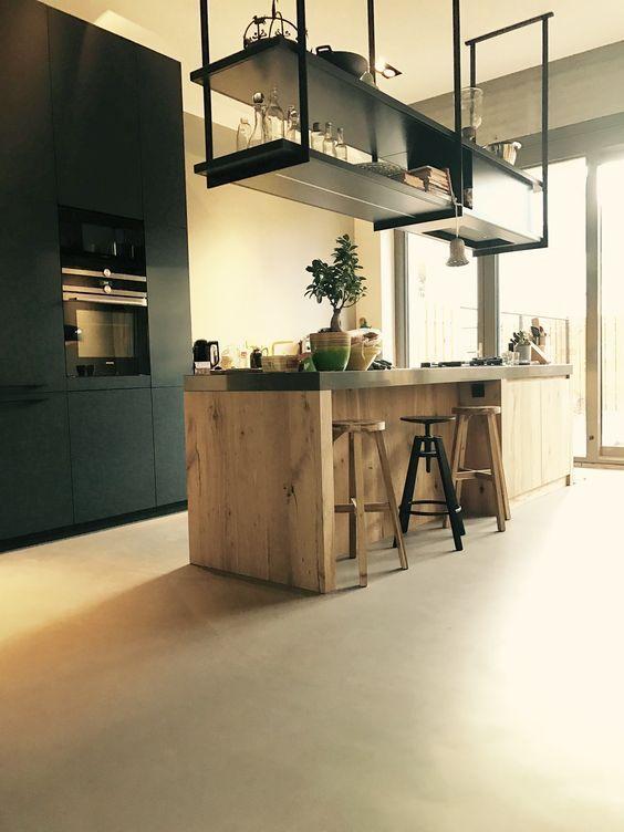 Find the most impressive and modern kitchen design ideas for home here. #kitchen #kitchendesign #kitchendecor #homedecor #homeinterior #interiordesign #modernkitchen #farmhousekitchen #smallkitchen #rustickitchen #kitchendecorations