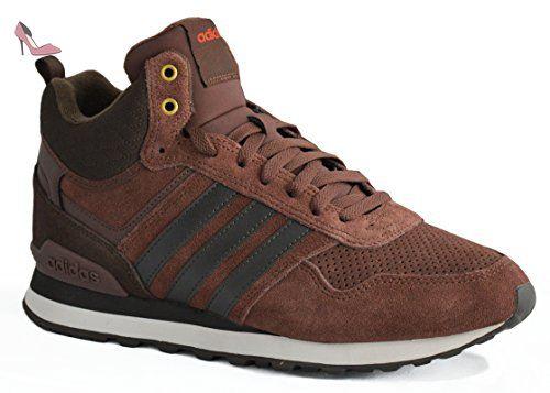 adidas 10Xt Wtr Mid, Chaussures de Sport Homme, Marron