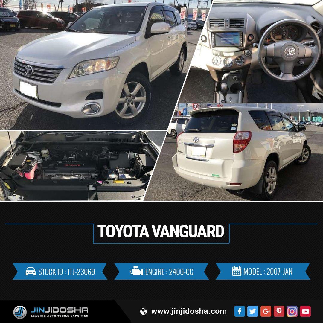 We Have Your Toyota Vanguard 2007! JinJidoshaJapan