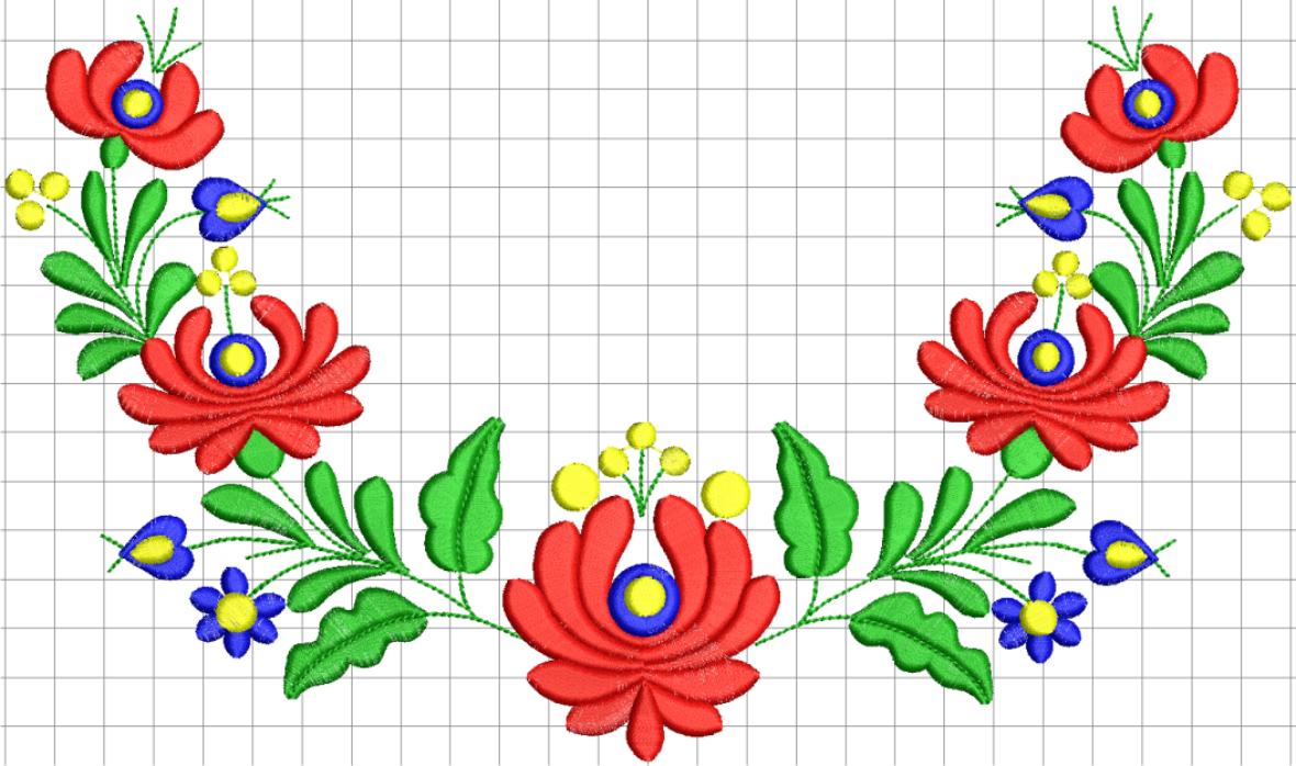 Matyó hímzésminta hungarian embroidery pinterest