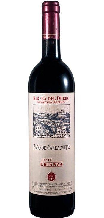 Vino Tinto Pago De Carraovejas Crianza Vino Tinto Vino Vinos Y