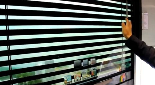 Samsung\'s Transparent Digital Window, See The Outside While ...