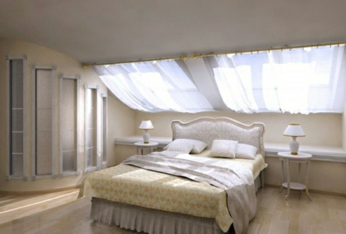 ▷1001 + Ideas for Gorgeous Attic Room Curtain Ideas | Window