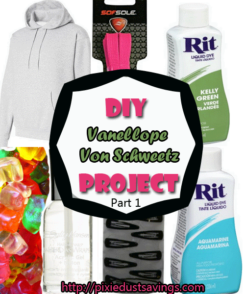 #DIY Vanellope Von Sweetz Project- Part 1 #megacon #disneydiy