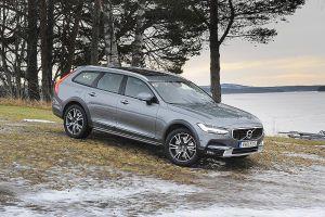Der V90 Geht Ins Gelande Volvo Autos Und Motorrader Autobilder
