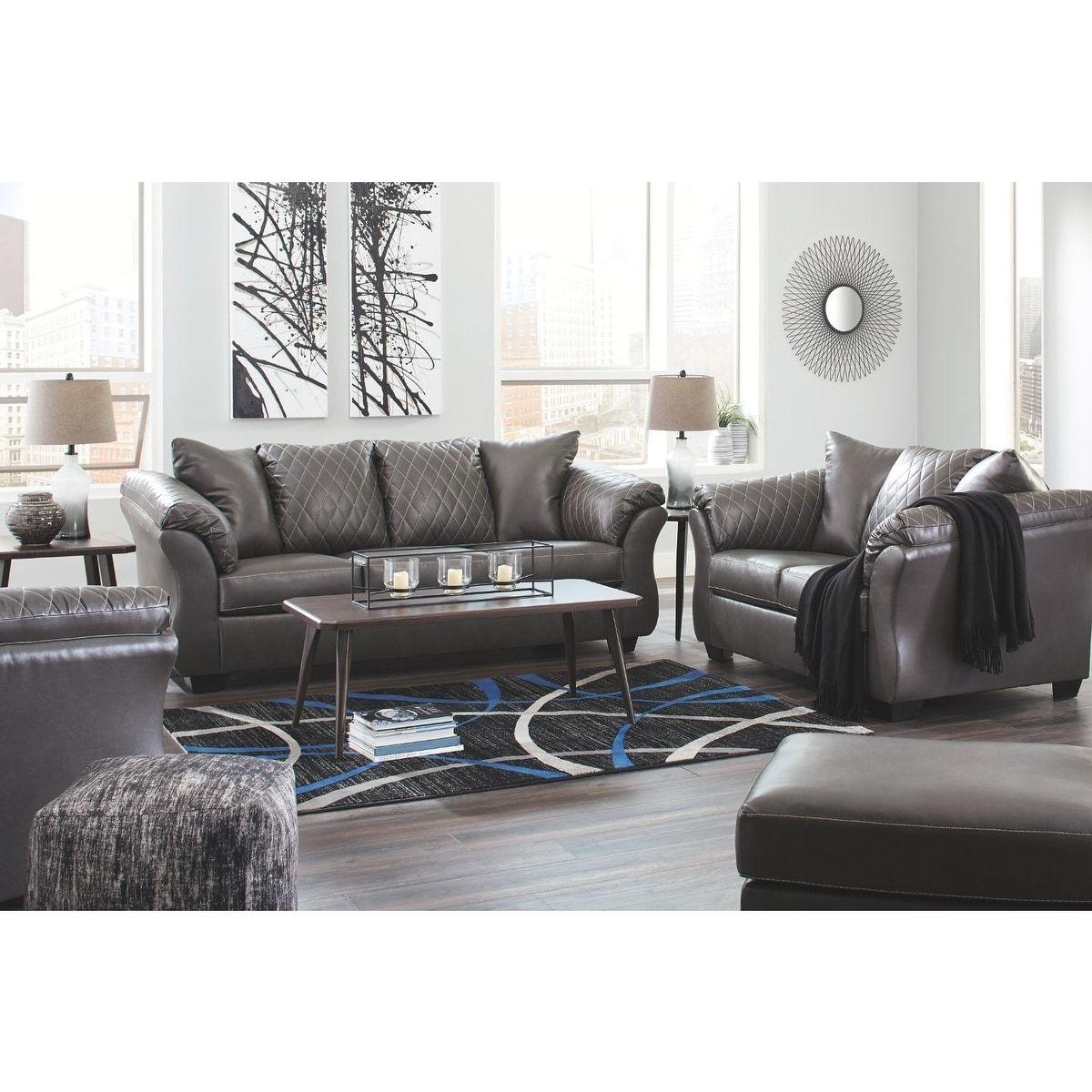 Best Copper Grove Staroko Grey Sofa Gray Sofa Set Couch Loveseat Gray Sofa 400 x 300