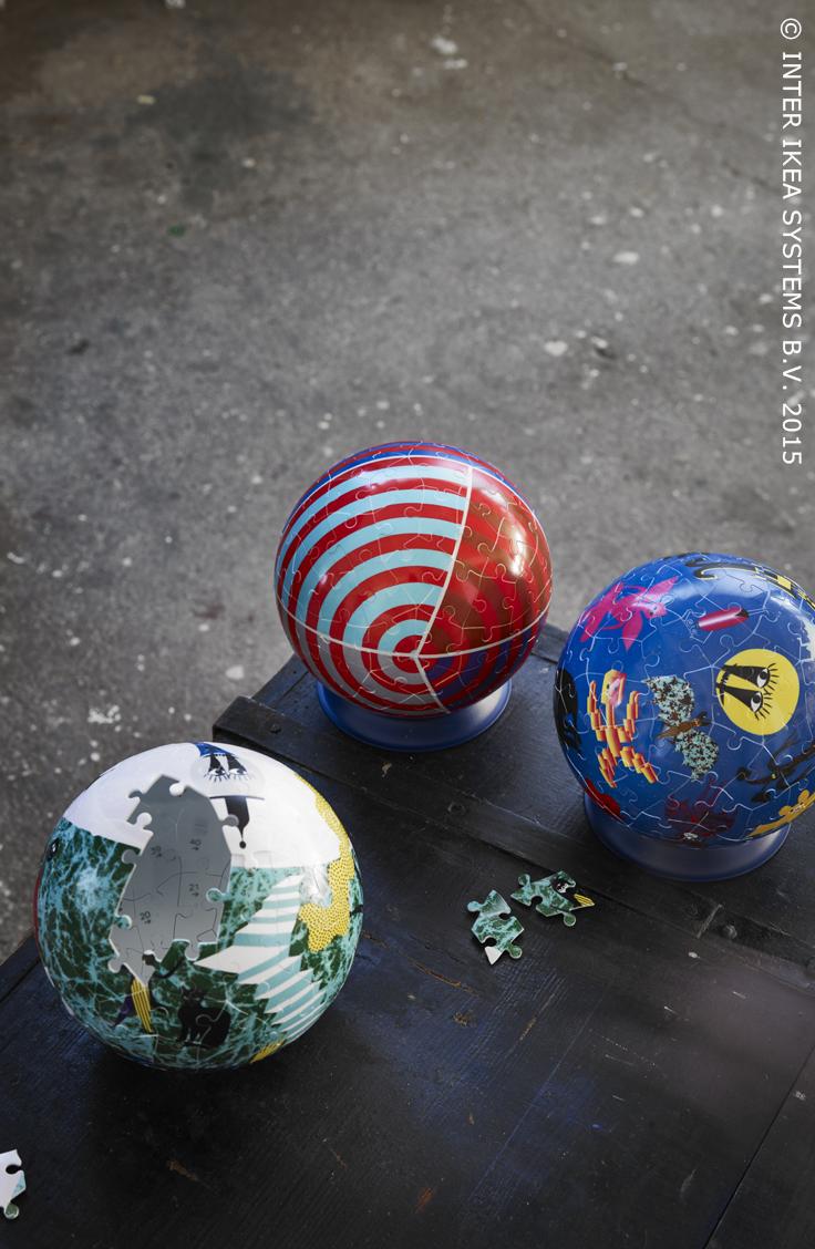 Originele speelgoedideeën voor kinderen. LATTJO Puzzel #IKEABE