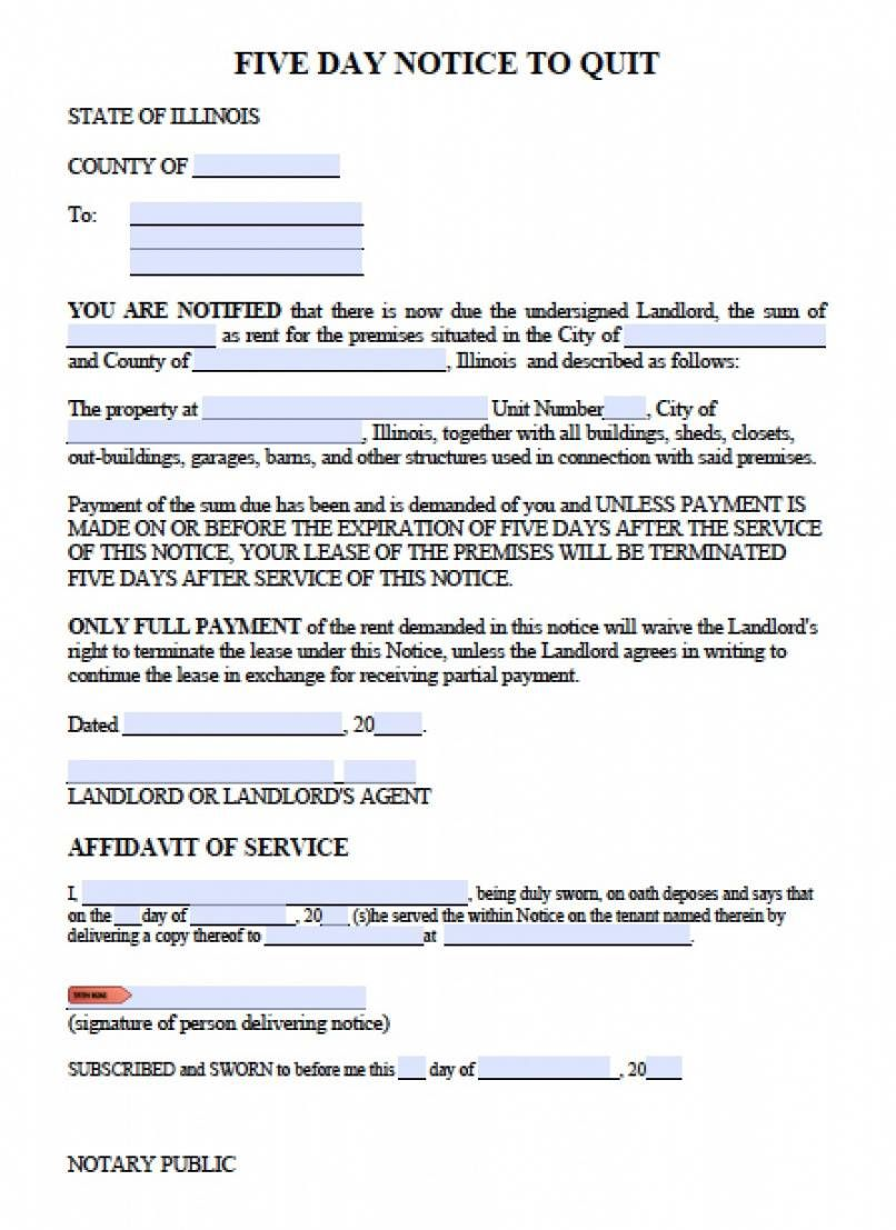 Get Our Free Landlord Eviction Notice Template Being A Landlord Eviction Notice Rental Agreement Templates Pay or quit notice sample