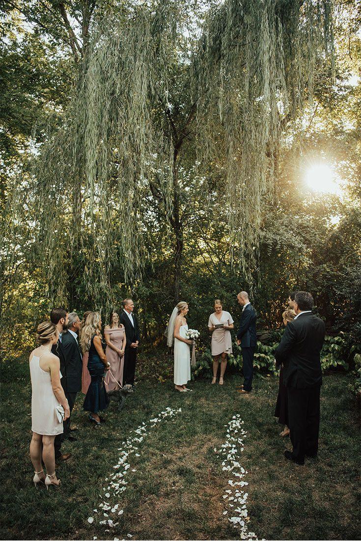 Intimate Clifton Inn Wedding Charlottesville, VA in 2020