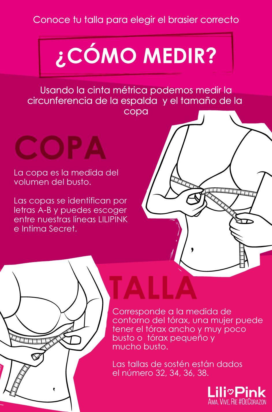 a745b0a3a533 SabiasQue el 64% de las mujeres utilizan la talla del brasier ...