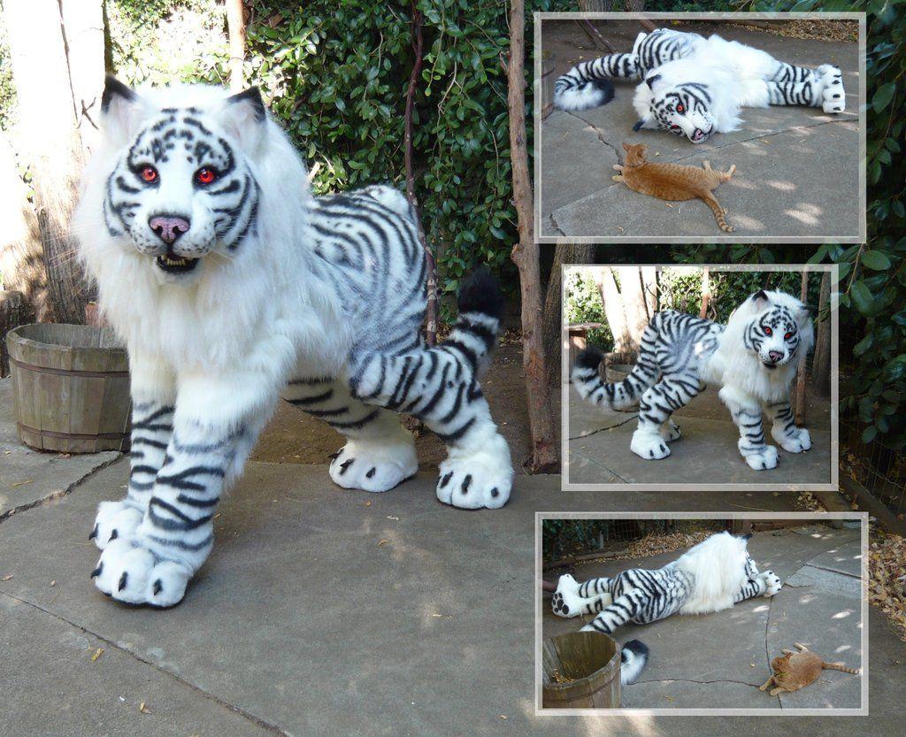 Maned Tiger Quadsuit By *lilleahwest On Deviantart