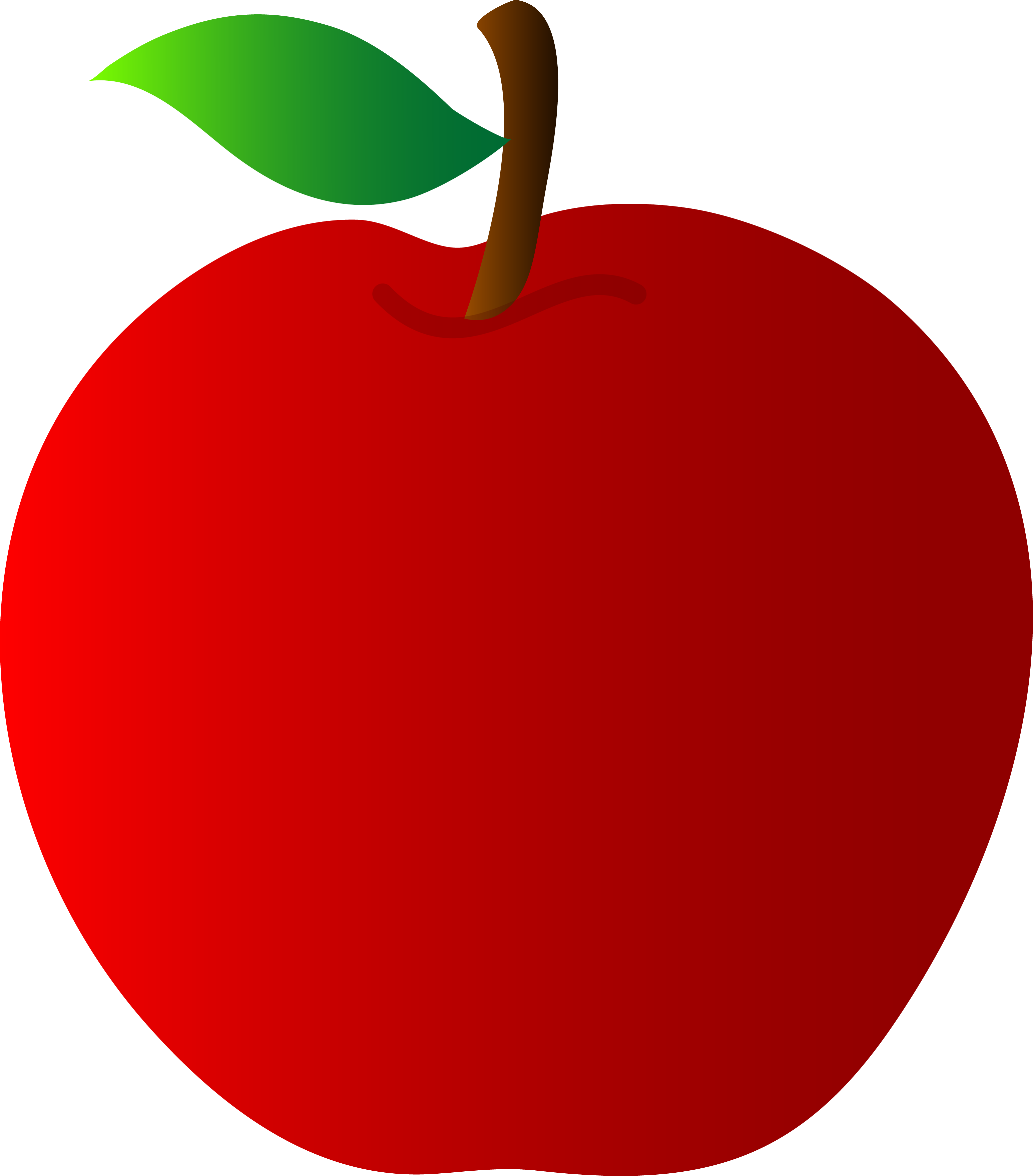 Red Apple Vector Art Free Clip Art Apple Clip Art Clip Art Apple Vector