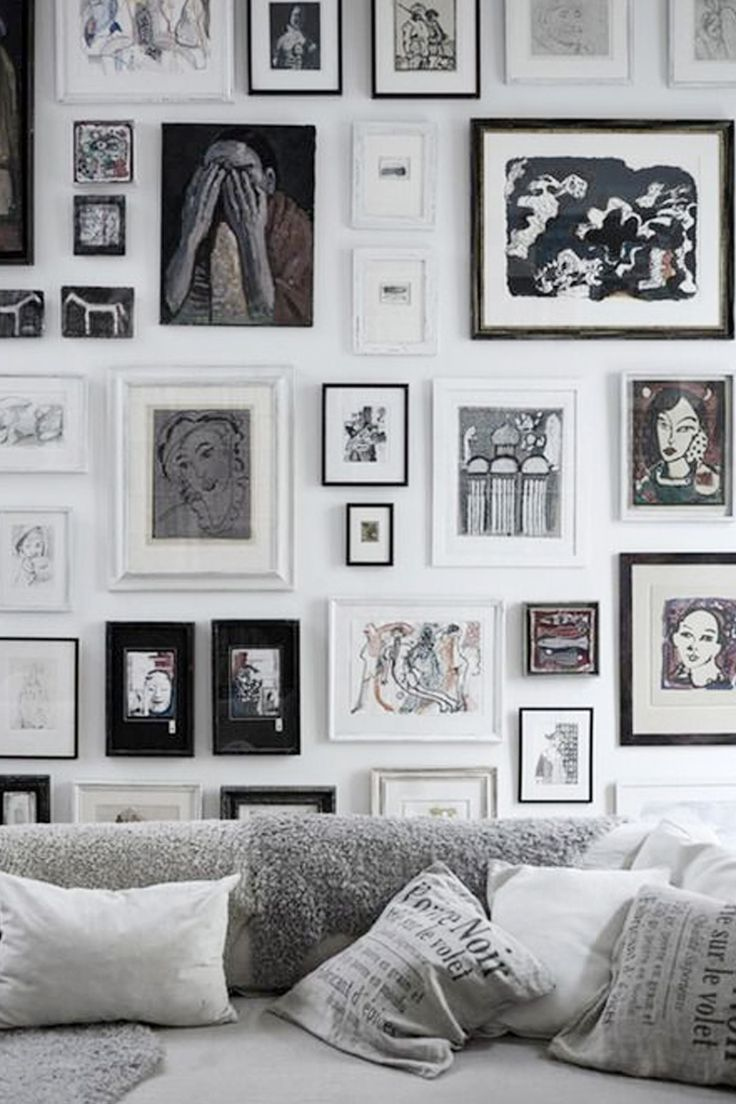 How To Hang A Stunning Gallery Wall - The Chriselle Factor | DIY ...