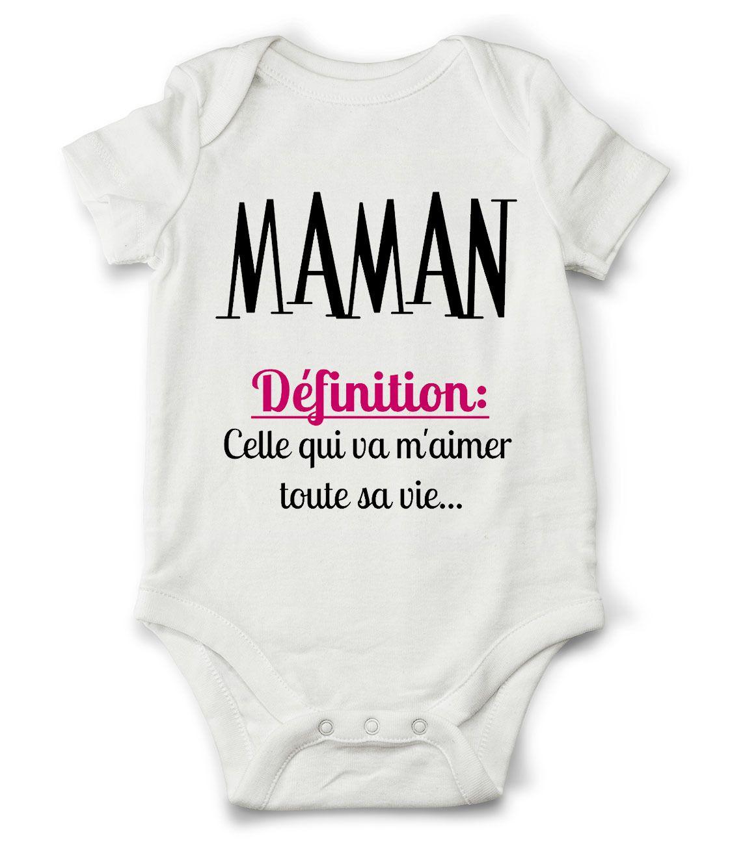 843545b887bf8 Body grenouillère définition de maman...   Mode Bébé par creatike ...