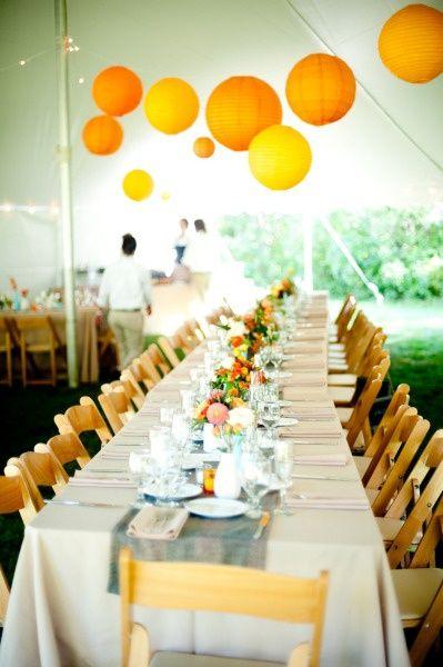 The French Tangerine: ~ paper lanterns