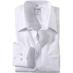 Photo of Olymp Luxor shirt, comfort fit, extra short arm, white, 43 Olymp