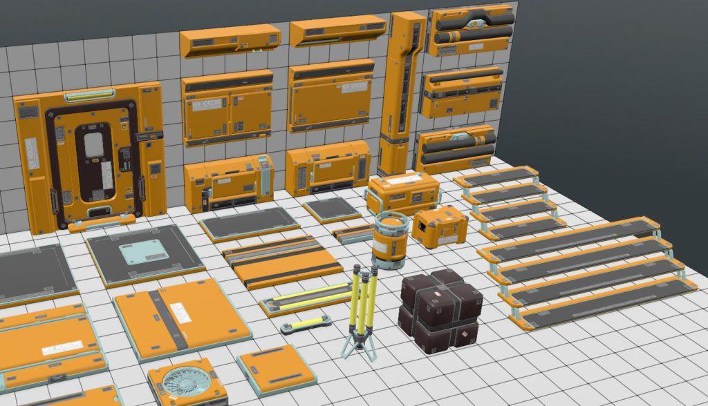 Creating Sci-Fi Modular Environment in UE4   Sci fi in 2019   Sci fi