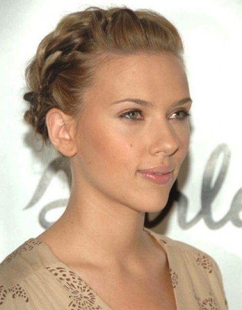 Braids Tresses Scarlett Johansson, Greek goddess